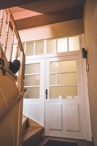 Treppenhaus Eingangstür